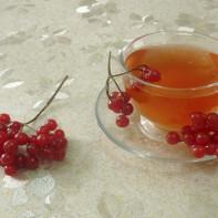 Фото калинового чая