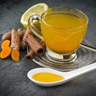 Фото чая с куркумой