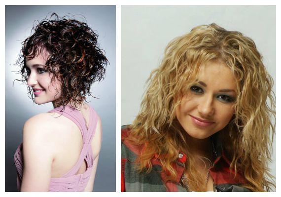 Волосы с эффектом мокрых волос
