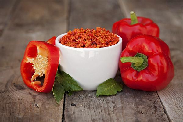 Как правильно сушить болгарский перец