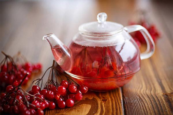 Как приготовить чай из калины