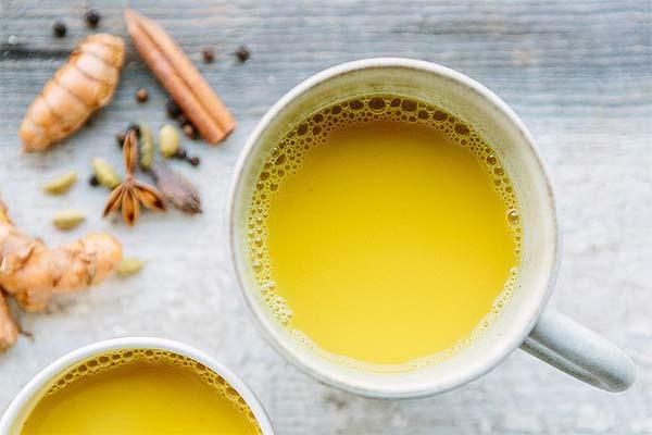 Как приготовить чай с куркумой