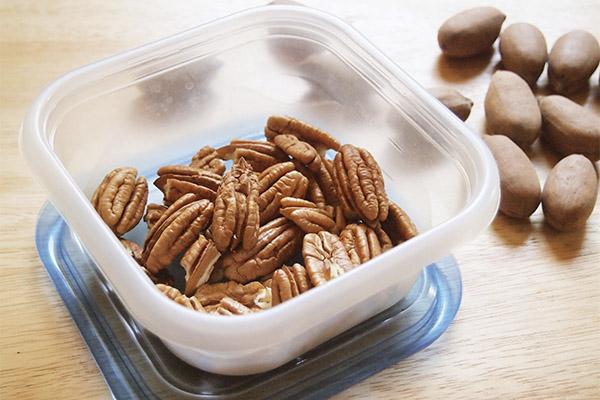 Как выбрать и хранить орехи пекан