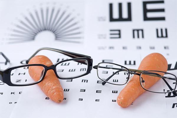 Какие овощи полезны для зрения