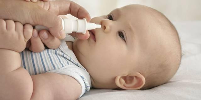 Капли в нос от насморка для новорожденных