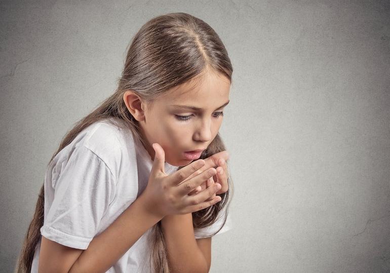Кашель до рвоты у ребенка, что делать?