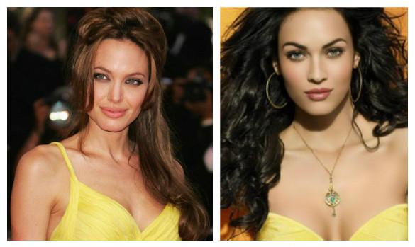 желтое платье и макияж