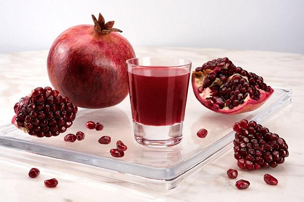 Можно ли пить гранатовый сок при похудении