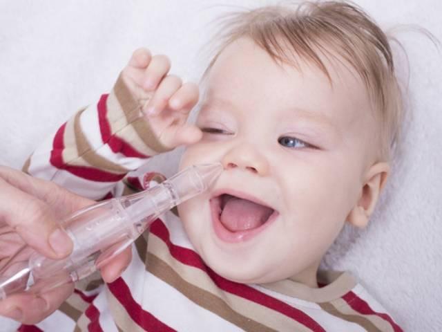 Как вылечить насморк у ребенка 2 года?