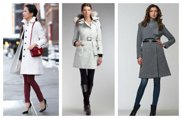 пальто в базовом гардеробе девушки