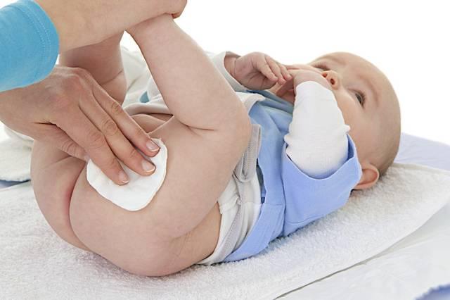 Лечение пеленочного дерматита у грудничков