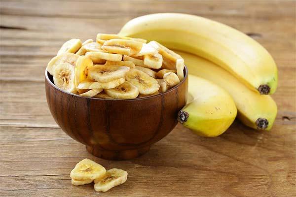 Польза сушенных и вяленых бананов