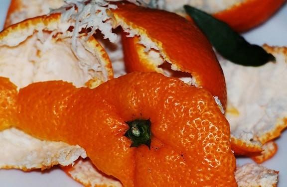 применение апельсиновых корок