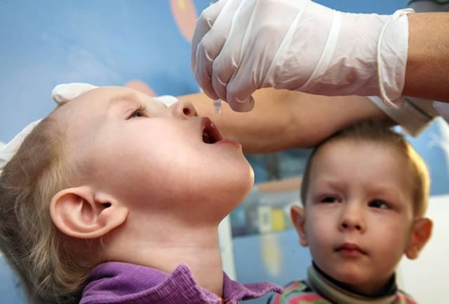 Прививка от полиомиелита, реакция у детей
