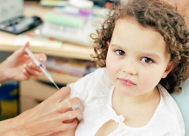 Реакция на прививку от гриппа у ребенка