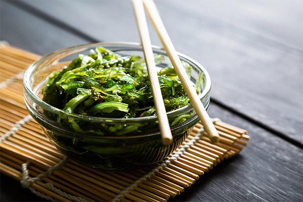 Рецепты с водорослями чука