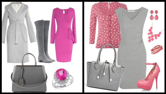 с розовым платьем