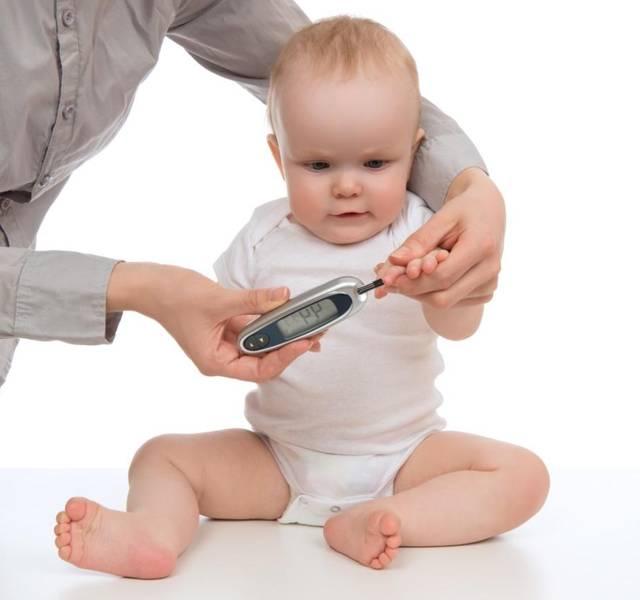 Сахарный диабет у маленьких детей