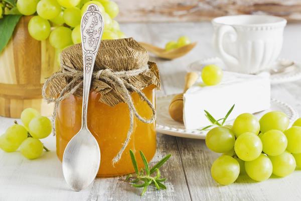 Варенье из зеленых плодов винограда