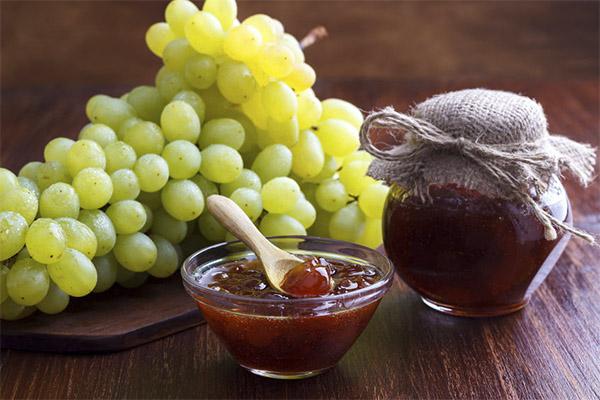 Виноградное варенье без добавления сахара