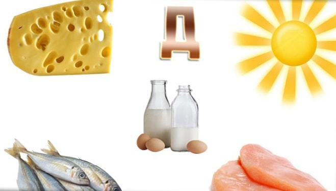 Витамин д3 в продуктах